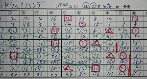 12月22日(日)中山8R、グッドラックハンデ 部分オッズ表2.jpg