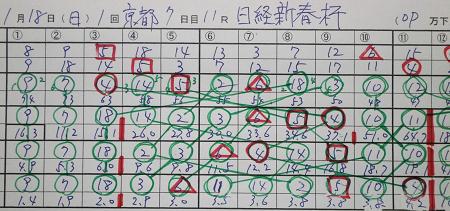 15年1月18日(日)京都11R 日経新春杯 結果.jpg